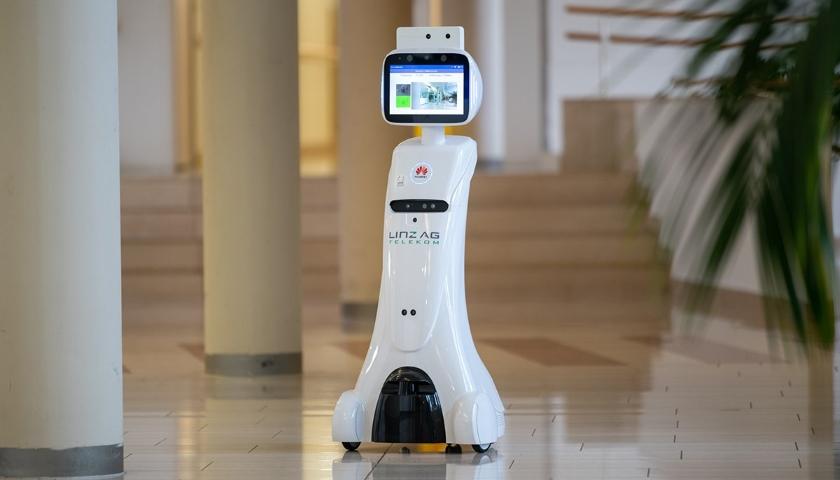 5G robotický pomocník