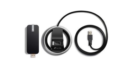 Dvoupásmový Wi-Fi USB adaptér s rychlostí až 1300 Mbit/s