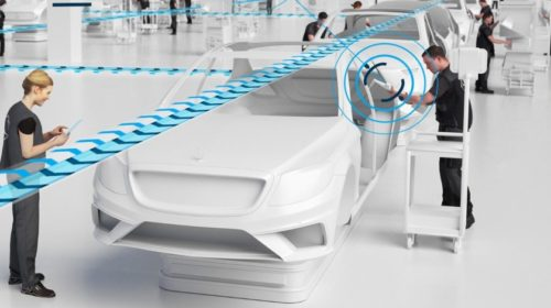 Ericsson zajistí 5G síť pro výrobu automobilů Mercedes-Benz