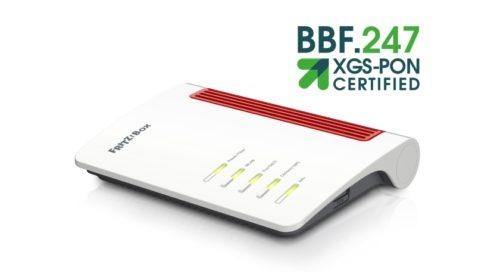 AVM FRITZ!Box 5530 Fiber získává certifikaci od Broadband Forum