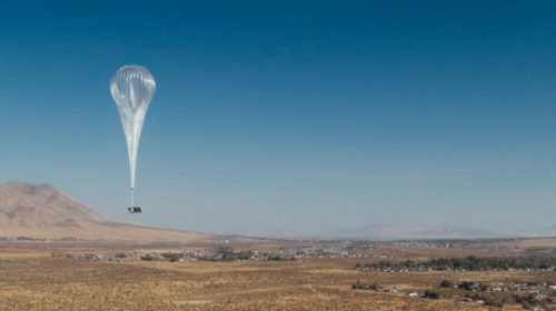 Projekt Google Loon přináší internet do Keni – přes balón