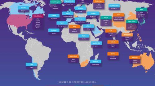 Do konce roku 2019 bude spuštěno 55 komerčních sítí 5G