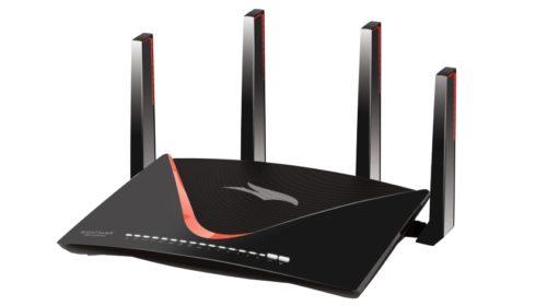 Třípásmový herní Wi-Fi router