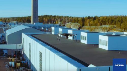Nokia Drone Networks zachraňuje životy při katastrofách