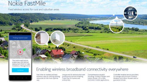 Nokia rozšiřuje portfolio FastMile s pevným bezdrátovým přístupem
