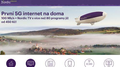 První komerční provoz v síti 3,7 GHz