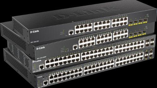 Nové switche řady DGS-1250