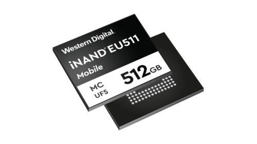 Paměť iNAND® MC EU51 dosahuje rychlostí zápisu až 750 MB/s