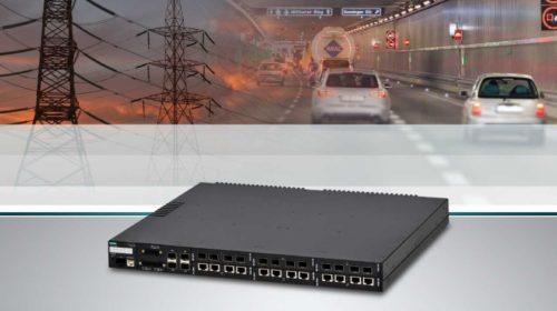 Ethernetové switche s velkým počtem portů a podporou časové synchronizace