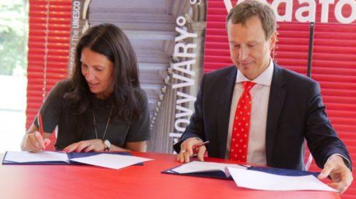 Karlovy Vary a Vodafone podepsaly memorandum o spolupráci