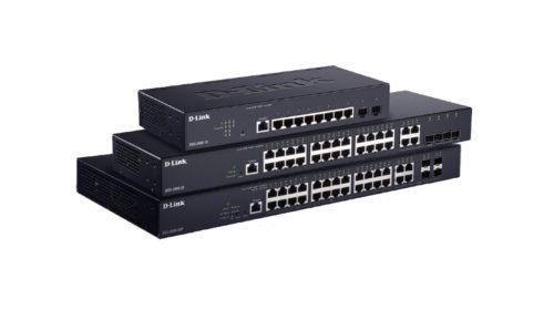Cenově efektivní plně spravovatelné gigabitové switche řady DGS-2000