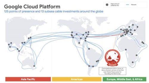 Platforma Google Cloud položí soukromý transatlantický kabel