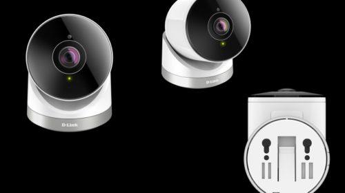 Kamera Wi-Fi HD s úhlem záběru 180°
