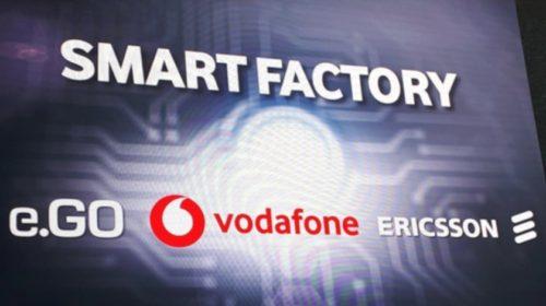 """Ericsson, Vodafone a e.GO zahájili v Německu """"5G výrobu"""" automobilů"""